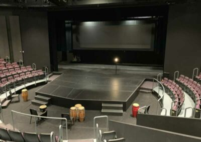 UW-Milwaukee Mainstage, looking at stage from house right