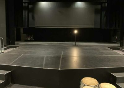 UW-Milwaukee Mainstage, stage view from downstage center