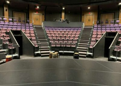 UW-Milwaukee Mainstage, looking at house from center stage
