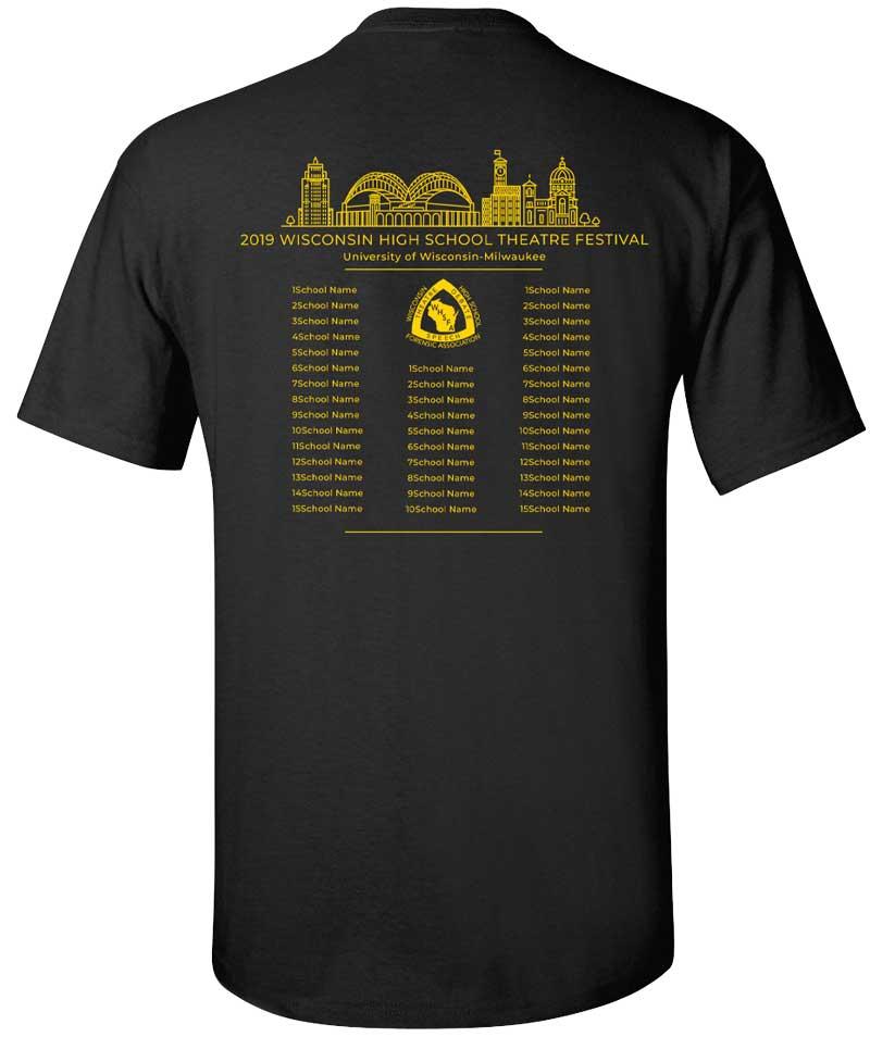 2019 Theatre T-Shirt (Back)