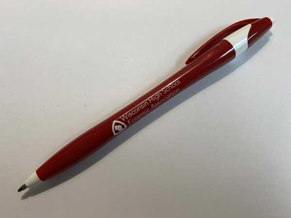 WHSFA branded pen